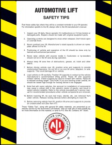 Safety Tips Card
