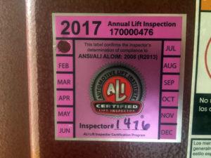 Automotive Lift Inspector Certification FAQ
