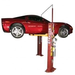 Types-Of-Car-Lifts-Two-Post-Frame-Engaging-Lift-with-honda-Rotary-Forward-Lift-I10