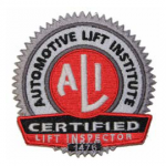 Auto Lift Certification Program