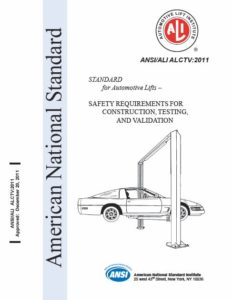 Lift Certification Standard for Construction Testing and Validation ALCTV