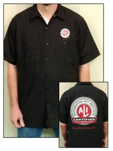 Certified Lift Inspector Shirt
