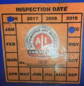 Lift Inspector