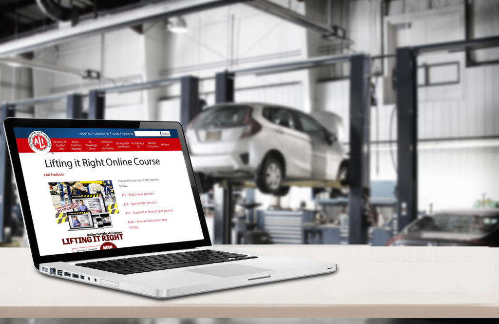 Auto Lift Institute Online Training Course