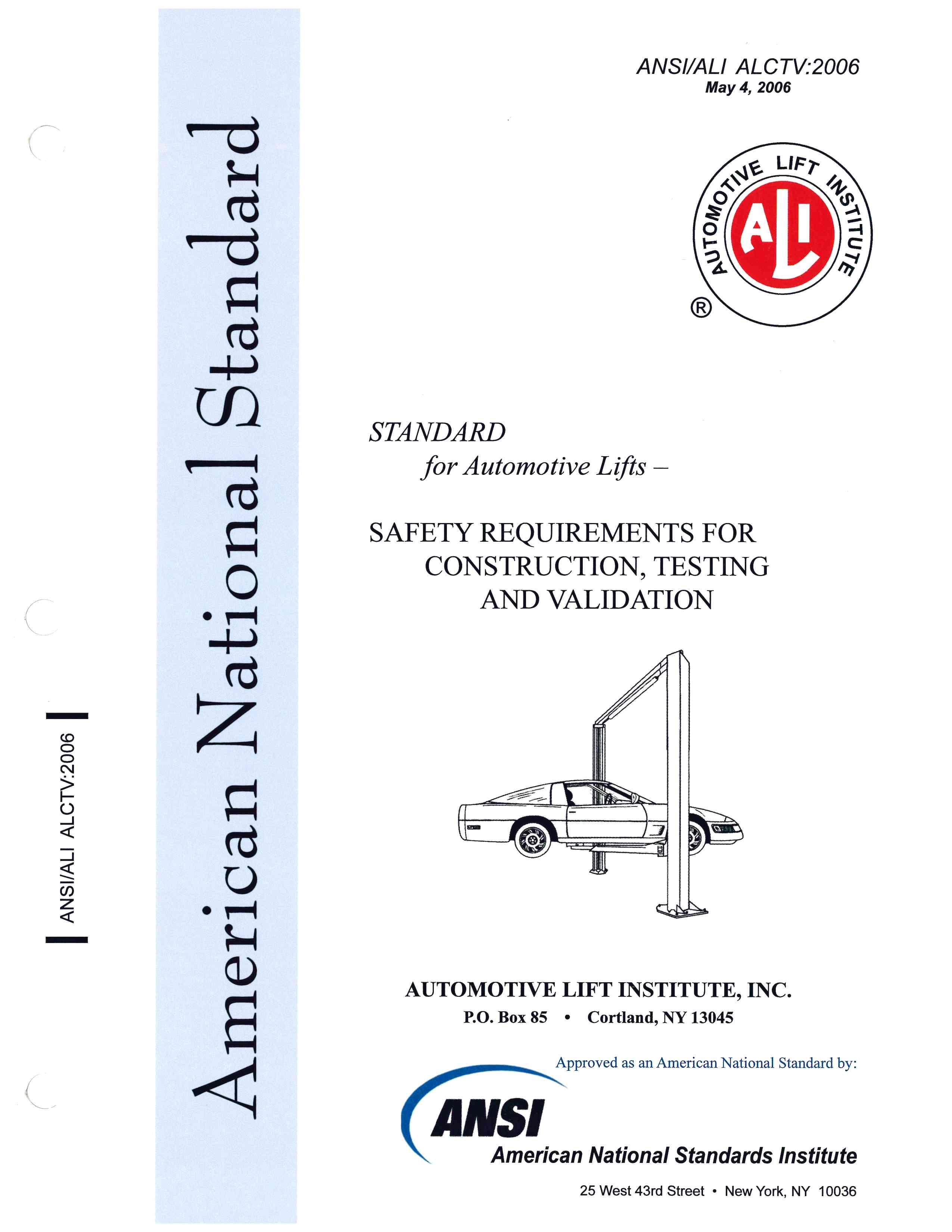 The Auto Lift Institute History | ALI History