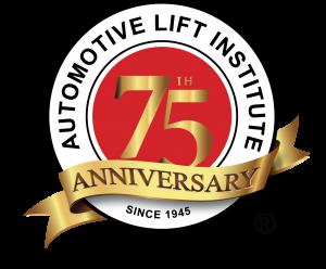 ALI 75 Years Logo