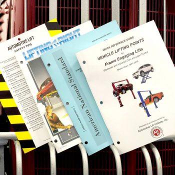 Auto Lift Resource manuals